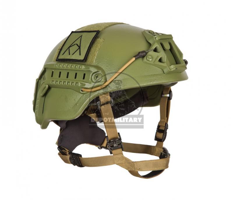 TOR-1 armor helmet side fastenings + additional parts