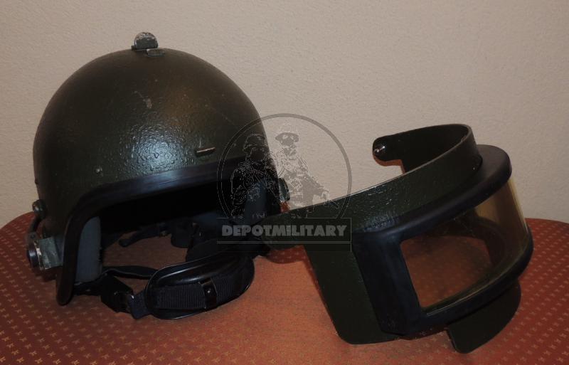 TIG-PSG-77 titanium helmet - DEPOTMILITARY COM